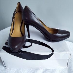Nine West chocolate brown stilettos